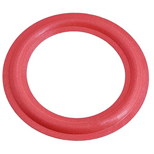 Wnuanjun 2 stücke Lautsprecher Gummi Surround 4/5 / 6,5/8/10 Zoll Lautsprecher Reparaturteile Schaumkante Schwamm DIY für Lautsprecher Zubehör (Größe : 6.5Inch 154mm)