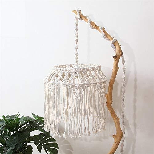 chinejaper Lampenschirm für Hängelampe, Lampenschirm Decken Leuchte Beschlag für Wohnzimmer, Schlafzimmer und Badezimmer, Warmweiß, Birne Nicht Enthalten