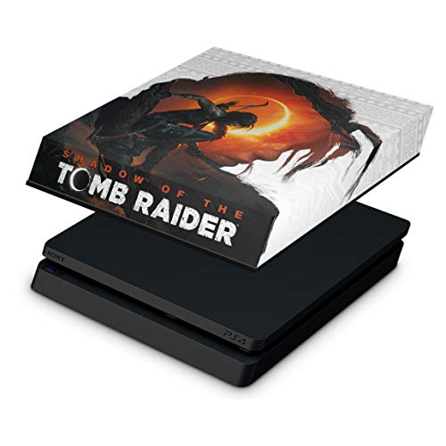 Capa Anti Poeira para PS4 Slim - Shadow Of The Tomb Raider