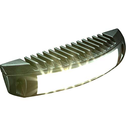 Labcraft | Scenelight SI7 | Umfeld-beleuchtung 5 LED Feuerwehr Rettungswagen Fahrzeug-bau Wohnmobil | Multi-Voltage 10-32 V | weiß schwarz | made in UK | 1560 Lumen hell | (Schwarz)