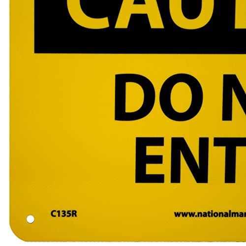 NMC C135R OSHA Sign, Legend