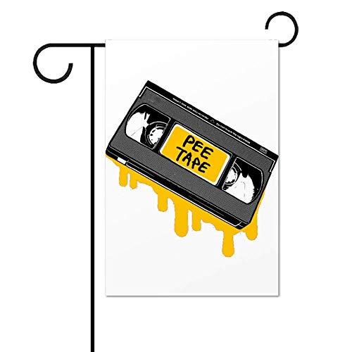 Click15 Das Pee Tape ist echt mit Art Design Garden Flag Flag, Garden Decoration Flag, Innen- und Außenflaggen, Parade Flags, Jubiläumsfeiern, doppelseitig.
