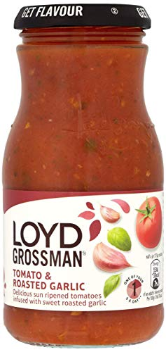 Loyd Grossman Tomato and Roasted Garlic Sauce, 350g