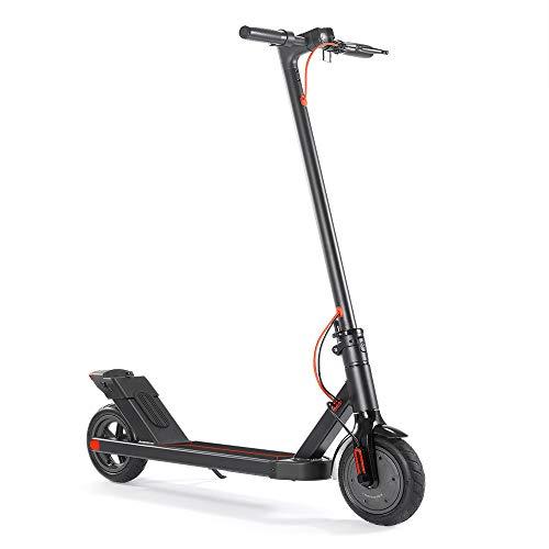 CHAOPENG Scooter Elettrico,Piegare Ultra Leggero Mini a Due Ruote Monopattino Elettrico Batteria al Litio Design Portatile E Regolabile Scooter Adatto Ad Adulti E Adolescenti