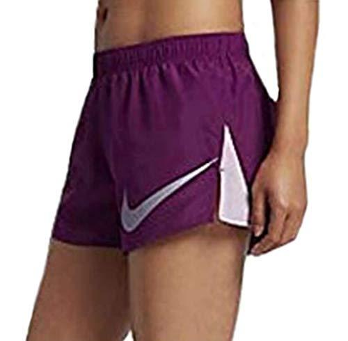 Nike Women's 3'' Dry City Core Running Shorts (X-Small, True Berry)