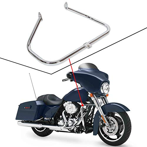 Engine Guard Highway Crash Bar For Harley Touring Electra Glide FLHT HD Road King 1997-2008