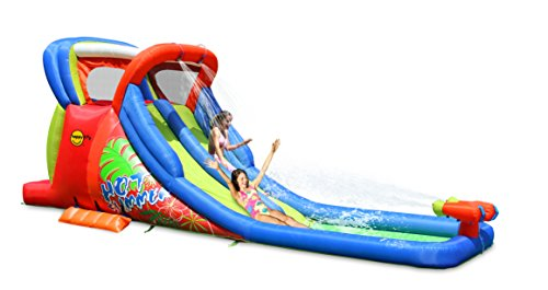 Happy Hop 9129 Hot Summer Double Water Slide, Multicolour