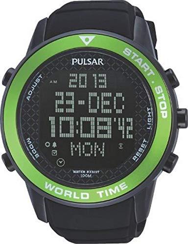 PULSAR OUTLET Reloj Digital para Hombre de Cuarzo con Correa en Ninguno 1