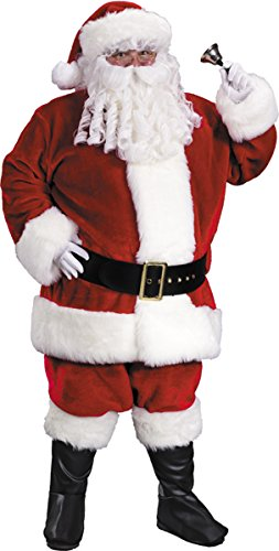 Costumes For All Occasions FW7542 Santa Suit Prem PlushXXLarge