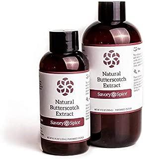 Butterscotch Extract Natural - 8 floz Bottle