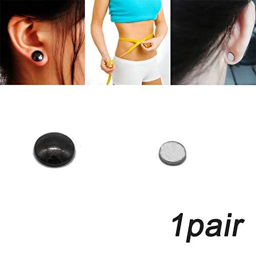 Soulitem 1/4/6/10 Paar Ohrringe, Bio-magnetisch, zum Abnehmen von Gewichtsverlust, stimulierend, Akupressur, 1pair
