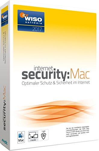 WISO Internet Security 2017 MAC (3 Geräte) [Mac]