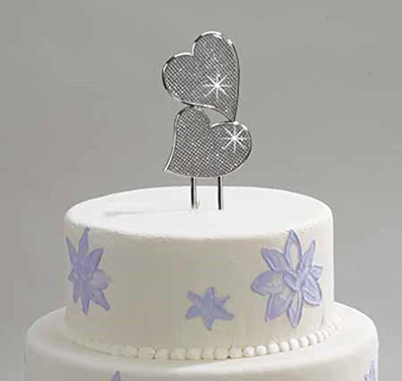 la mejor oferta de tienda online Creative Gifts gg gg gg Cake Topper Dbl Hearts 7 np by Creative Gifts  clásico atemporal