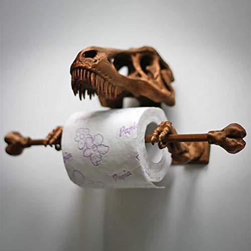 T-Rex Skull Toilet Paper Holder