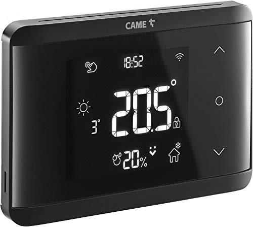 termostato wifi nero CAME 845AA-0110 TH/700 BK WIFI CRONOTERMOSTATO TOUCH COLORE NERO