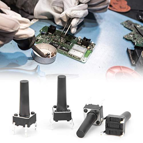 Interruptor táctil momentáneo, interruptor de botón DIP ligero para la industria para el hogar