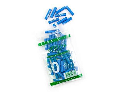 PURIZE® XTRA-Slim Size Aktivkohlefilter SET (50er Spezial Set - blau)