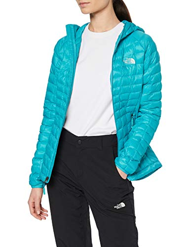 The North Face Thermoball Sport Hoodie Sudadera Deportiva con Capucha para Mujer, Ion Blue, XS