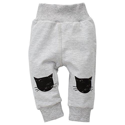 Pinokio - Legging - Bébé (Fille) 0 à 24 Mois Gris Gris 74 - Gris - 18 Mois