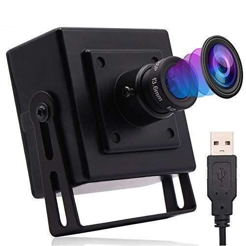 USB Camera Module 8 megapixel Wide Angle Webcamera usb 3264X2448 for Machine Vision,Sony IMX179 Web USB Security Camera Module for 3D Scanner,VR Camera (180 Degree fisheye Lens with Housing)