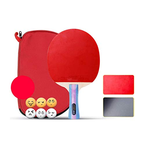 Best Buy! KONGZIR Table Tennis Bat, Pen-Hold, Single Shot, Student Competition Table Tennis Racket, ...