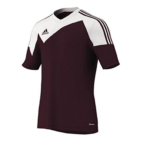 adidas TOQUE 13Herren Fußball Trikot, Herren, Kastanienbraun/Weiß, Large