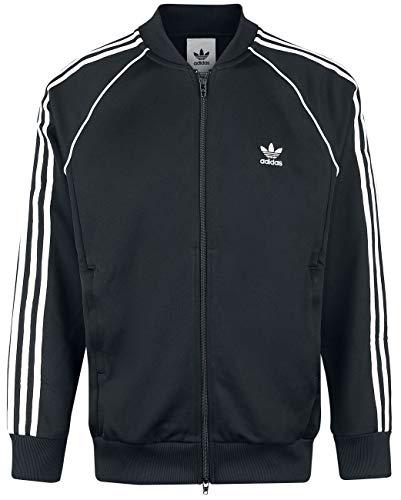 Adidas SST TT Chaqueta, Hombre, Negro, L
