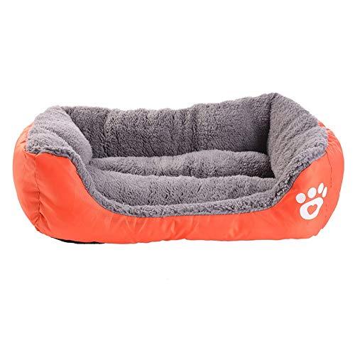 DSGJHJKTO Dog Bed Paw Pet Sofa Mat Waterproof Bottom Soft Warm Cat Bed Mattress House
