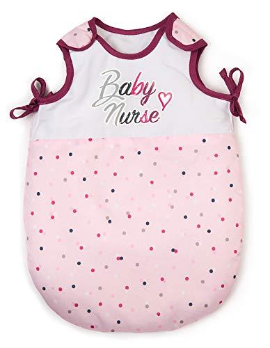Smoby - Baby Nurse - Turbulette - Pour Poupons et Poupées - Gigoteuse en Tissu - 220350