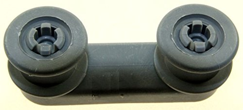 Smeg–groipe Halterung + Räder Ratgeber grau für Spülmaschine SMEG–bvmpièces