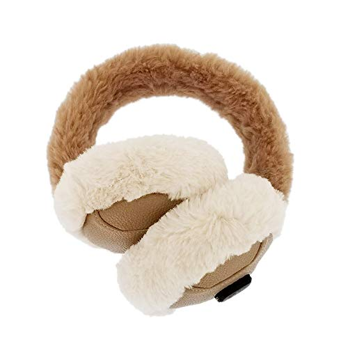 Heated Ear Warmer for Winter Women & Men Running, Electric Ear Muff Soft & Warm, Ear Covers for Cold Weather