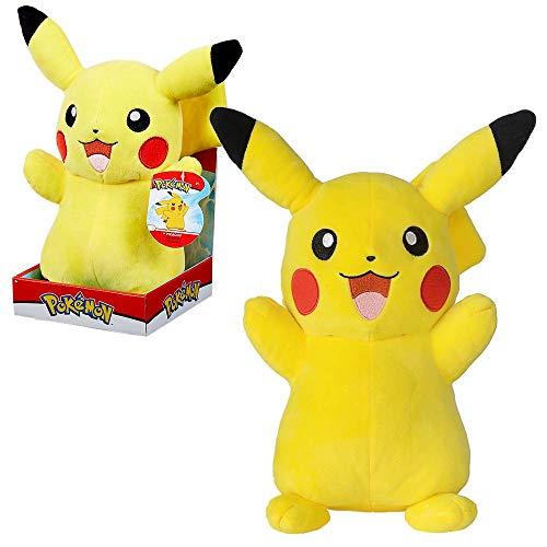 Auswahl Premium Plüsch-Figuren | Pokemon | Plüsch-Tier in Geschenkbox 27-30 cm, Plüsch:Pikachu