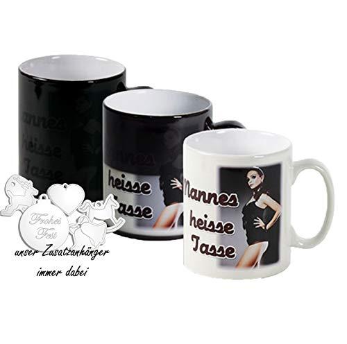 Zaubertasse Fototasse mit Foto Bild Motiv und Text Namen oder Spruch selbst gestalten ✓ Magic Mug Tasse ✓ Hochwertige magische FarbwechselTasse mit eigenem Spruch oder Namen ✓ Namenstasse, Motiv-Tassen, Kaffee-Becher bedrucken lassen ✓ Meine Tasse ✓ Lieblingsmensch ✓