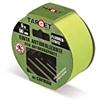 Fluorescente - TARGET – Cinta Adhesiva 5 m x 50 mm - Advertencia Seguridad -...
