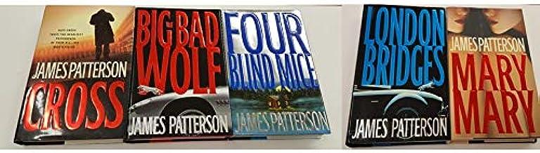 James Patterson - Alex Cross set - Cross, Big Bad Wolf, Four Blind Mice, London Bridge, Mary Mary