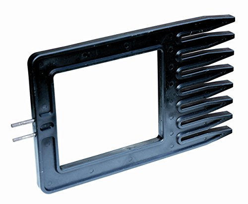 GAH-ALBERTS 611934 Spannkamm zur Straffung von Schweißgittern, Kunststoff, schwarz