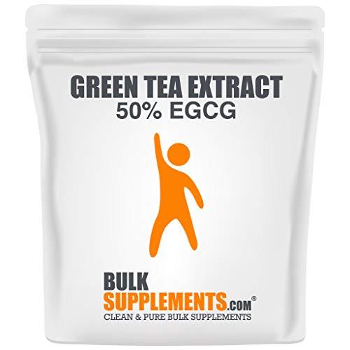 BulkSupplements.com Green Tea Extract 50% EGCG Powder - Green Tea for Weight Loss - EGCG Green Tea Extract (100 Grams - 3.5 oz)