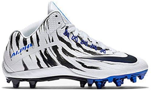 Nike Mens Alpha Pro 2 3/4 TD LE 2.0 ( 12 D (M) US , White/ Racer Blue-black )