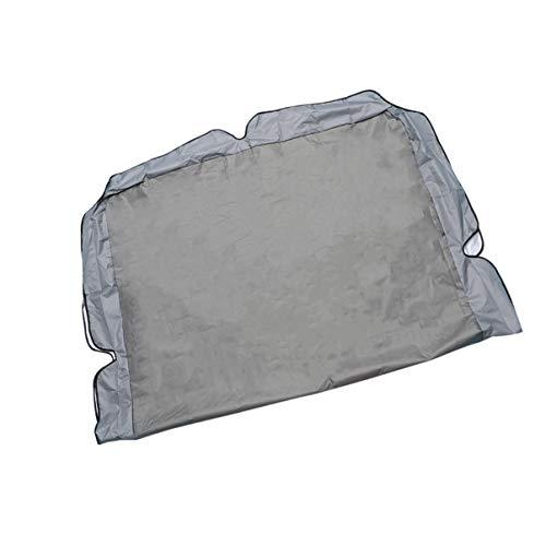 DOITOOL Funda protectora para silla de jardín, impermeable, para exteriores, para jardín, patio, 249 x 185 x 18 cm, color gris