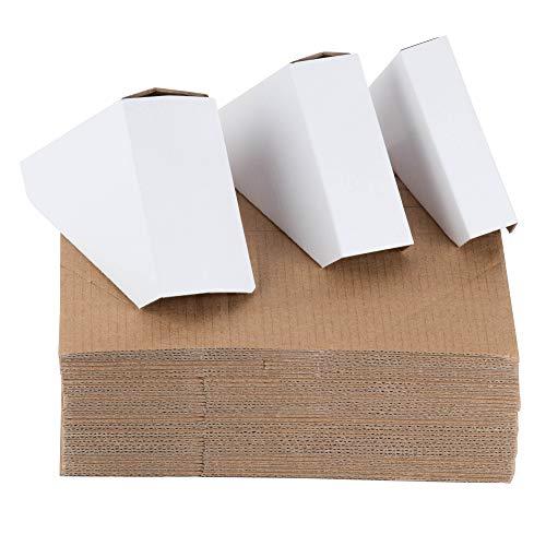 Frame Hoekbeschermers - 100 Count Verstelbare Kartonbeschermers voor fotolijsten, Past op Frames 1 Inch, 1.5 Inch, en 2.2 Inches Wide