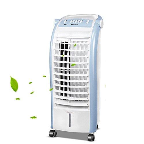 Velocidad del viento de cuatro velocidades, humidificación y enfriamiento, tanque de agua con perspectiva de 6L, operación conveniente, ventilador de aire acondicionado para el hogar, aire acondiciona