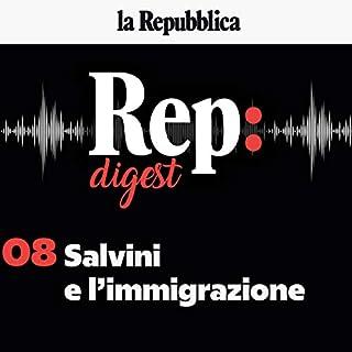 Immigrazione, la battaglia sovranista di Salvini contro l'Europa cover art
