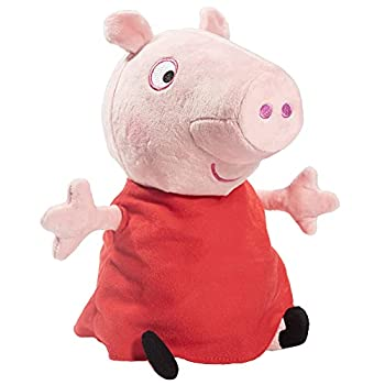 Peppa Pig Hug N  Oink Plush Stuffed Animal Toy Large 12  - Press Peppa s Belly to Hear Her Talk Giggle & Oink - Ages 18+ Months