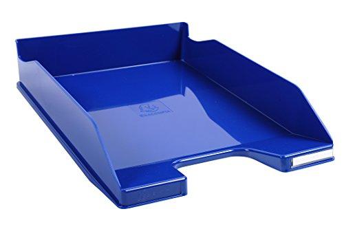 Exacompta Iderama - Bandeja de correo, color azul real glossy