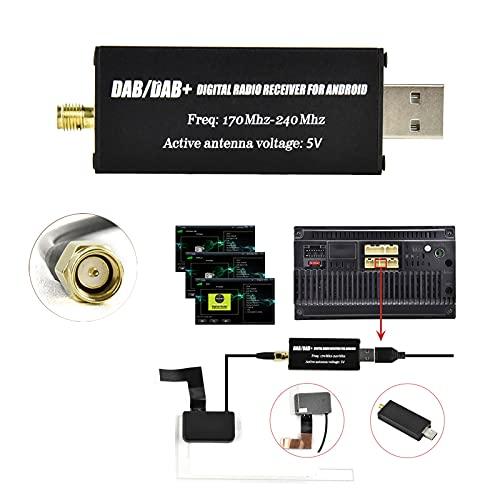 Ricevitore di segnale DAB, modulo DAB per autoradio Android, ricevitore radio DAB digitale