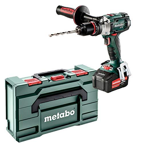 Metabo 602192950 Taladro atornillador, 18 V, Negro