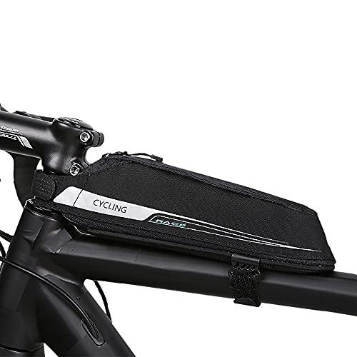Roswheel Borsa Bici da Bicicletta Telaio Borsa Frontal Sacchetto TOPTUBE Bag per Casual/Trekking/MTB/Mountain Biking(0,4L)