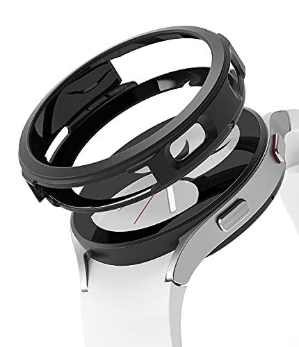 Ringke Air Sports Compatible con Protector Samsung Galaxy Watch 4 (40mm) Carcasa TPU Parachoque Protectora Funda Ligera Delgada para Galaxy Watch 4 40mm - Black