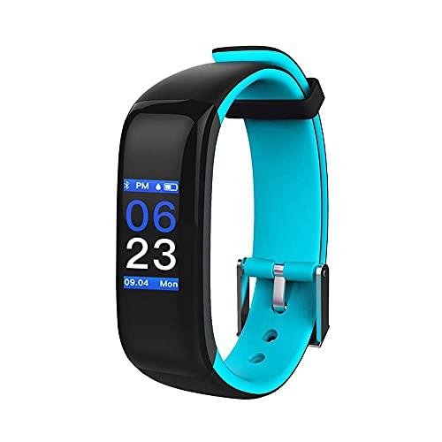 SmartWatch Fitness Tracker Smart Watch Activity Tracker Banda deportiva Pulsera Impermeable Bluetooth pulsera con monitor de ritmo cardíaco ECG Blood Oxygen Pedómetro Sueño Monitor de sueño Calorie Pa