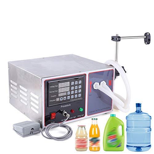 180W 220V Flüssigkeitsfüllmaschine Automatische Quantifizierung Fullmaschine Flussigkeit Abfullmaschine Flussigkeiten 10L Digitale Steuerung